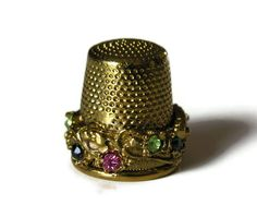 Jeweled Thimble