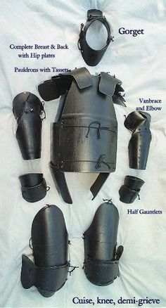Dark victory - HDPE armour for SCA