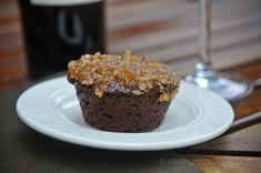 "Gluten Free German Chocolate Cake...""Delicious, moist chocolate cake with no gluten, eggs, dairy, xanthan gum or refined sugar!"""