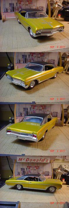 Vintage 2585: 1966 Buick Skylark Gran Sport 2 Door Hardtop Gold Metallic 1 25 Built -> BUY IT NOW ONLY: $59.99 on eBay!