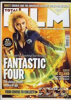 Jessica Alba - Total Film Magazine [United Kingdom] (August 2005)