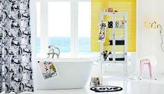 H&M - ideas for spring bathroom.