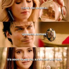 "#TVD 8x16 ""I Was Feeling Epic"" - Caroline, Damon and Elena"