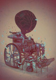 State of Mind, Artist: Aryz