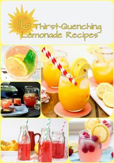 16 Thirst-Quenching Lemonade Recipes