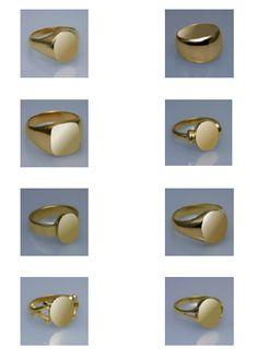 Modèles de chevalières - Douliere