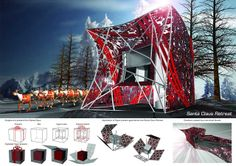 Concurso de projetos para casa do Papai Noel ~ ARQUITETANDO IDEIAS