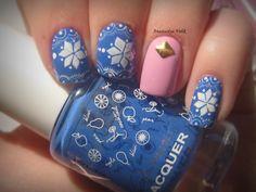 #Nail #Nails #Nail-art #design #Ногти #Маникюр #Идея_для_маникюра #заклёпки #новогодний маникюр #роспись #зимний маникюр #маникюр под свитер