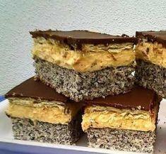 Makový krémeš - Recepty od myTaste Desserts, Anna, Food, Basket, Tailgate Desserts, Meal, Dessert, Eten, Meals