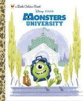 Monsters University Little Golden Book (Disney/Pixar Monsters University) | Books | Random House Kids