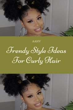 Popular Style Ideas For Long Curly Hair Quick Curly Hairstyles, Cute Natural Hairstyles, Protective Hairstyles For Natural Hair, Long Natural Hair, Natural Hair Styles For Black Women, Long Curly Hair, Curly Girl, Hair Videos, Curly Hair Styles