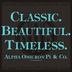 Alpha Omicron Pi Tiffany's AOPi Recruitment Bid Day Fall Recruitment Recruitment Theme Greek Shirt Alpha Omicron Pi Shirt. I'm in love