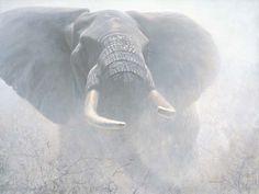 """Tembo Elephant"" - Robert Bateman"