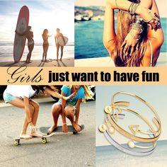 My Way, Have Fun, Jewellery, Bracelets, Style, Swag, Jewels, Schmuck, Bracelet