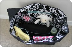 Diaper Bag and Clutch Pattern - The Ribbon Retreat Blog