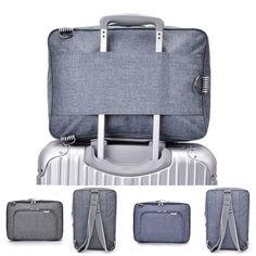 Multi-functional Luggage Storage Packing Bag Travel Business Laptop Bag Shoulder Bags Backpack Oxford Source by Bags travel Laptop Shoulder Bag, Laptop Bag, Shoulder Bags, Shoulder Strap, Business Laptop, Business Travel, Carry On Luggage, Luggage Bags, Carry On Bag