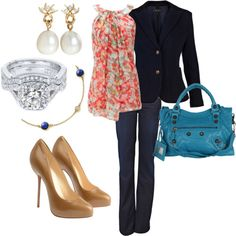 Classy with a touch of color!