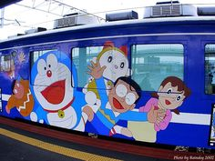 Train doraemon