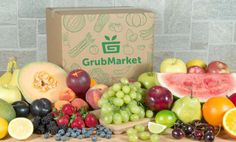 Enter to win a regular size GrubBox from GrubMarket--a box full of fresh, delicious produce and more delivered to your door!