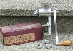 Mom made lots of great meals with the help of this meat grinder.