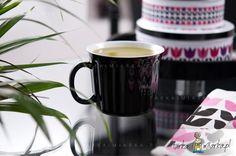 Ceramiczny kubek na zupę Soup z pokrywką, czarny