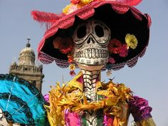 Day of the dead, a Mexican holiday celebrated throughout Mexico and around the world in other cultures focuses on gatherings of family and friends to pray for and remember friends and family members who have died. It is particularly celebrated in Mexico, where it is a national holiday, it takes place on November 1 and 2, in connection with the Catholic holidays of All Saints' Day and All Souls' Day.