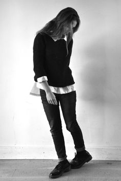 pull noir - Not Lab, chemise mixte en lin blanc - VDJ
