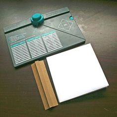 Mini book from envelope punch board