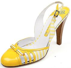 yellow, white, stripes, cute shoes, bliss