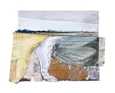 Gallery - Alfie Carpenter Landscape Sketch, Landscape Artwork, Abstract Landscape Painting, Watercolor Landscape, Collage Drawing, Painting Collage, Collage Art Mixed Media, Illustration Art, Illustrations