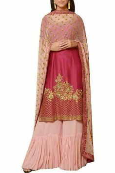 Best Indian salwar kemeez Click VISIT link forColor combo and work Red Lehenga, Indian Bridal Lehenga, Lehenga Choli, Sharara, Sarees, Gharara Designs, Kurta Designs, Indian Dresses, Indian Outfits