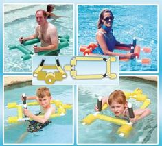 Water Walking Assistant. This unique design can help with muscular dystrophy, arthritis, neurological disorders, joint replacements, fibromyalgia and any debilitating illness.  The Water Walker provides a secure environment that is not capable of tipping over which provides confidence in the person to exercise in the water without fear.