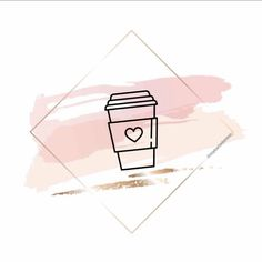 Rose gold brush strokes of different shapes in a contour golden square frame. Autumn Instagram, Pink Instagram, Instagram Logo, Rose Gold Wallpaper, Wallpaper Iphone Cute, Cute Wallpapers, Hd Wallpaper, Instagram Symbols, Edit My Photo