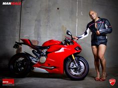 Men Replace Women in Sexy Motorcycle Ads - Likes