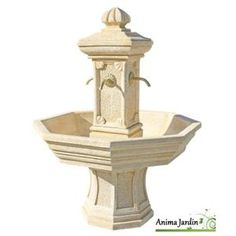 Fontaine centrale de jardin Vincennes de Roc de France   Fontaine ...