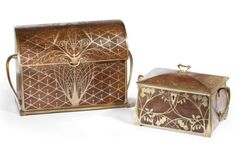 Erhard & Söhne, Stationary Box and Jewelry Box  |  SOLD $1,560 Christie's Paris, Jan. 25, 2012