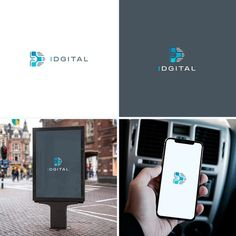 Logo design for a new Artificial Intelligent technology company Design by Cole. Internet Logo, Intelligent Technology, Logo Design Contest, Tech Logos, Typo, Dress, Dresses, Vestidos, Gown
