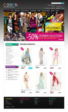 Ecommerce website Design and web Development by TechIdea NZ App Design, Your Design, Fashion Website Design, Responsive Web, Ecommerce, App Landing Page, Showcase Design, Web Design Inspiration, Spring Collection