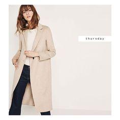 #zaradaily #thursday #newthisweek #woman Now available at zara.com #coat Ref: 7522/042