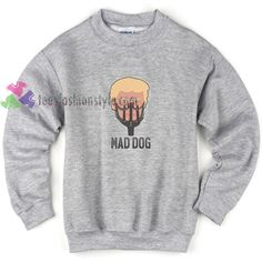 Mad Dog Trump Funny Sweatshirt Gift sweater adult unisex cool tee shirts //Price: $22.99  //