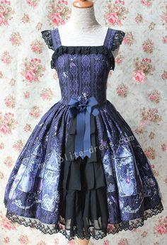[★UPDATE★] The below Lolita jumper dress is now Restocked