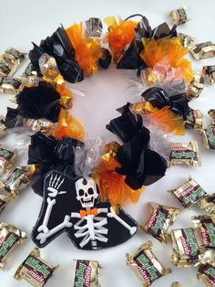 Candy Lei Halloween Skeleton by SugarLeis on Etsy