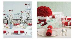 Red White Blue wedding