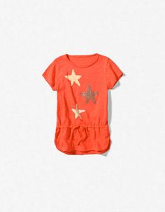 STARS T-SHIRT - T-shirts - Girl (2-14 years) - Kids - ZARA United States