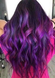 Beautiful Purple Hair Color Shades to Sport in Year 2020 | Voguetypes Modern Hairstyles, Latest Hairstyles, Hairstyles Haircuts, Grown Out Highlights, Hair Color Highlights, Hair Color Shades, Hair Color Purple, Pulp Riot Hair, Hair Color Techniques