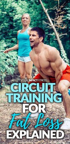 Circuit training for fat loss explained.
