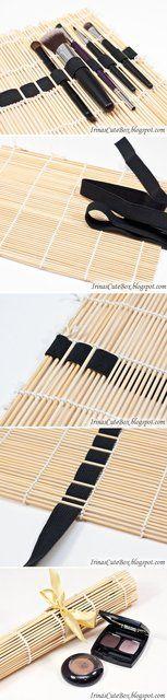 Fancy - DIY Sushi Mat Brush Organizer DIY Projects | UsefulDIY.com