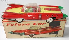 Retro Futurism ~ Vintage Futuristic Toy Cars – Modern Bear