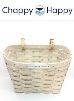 Chappy Happy Beach Cruiser Basket - www.chappyhappy.com