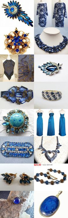 Blue Skies Of September Teamlove  by Gena Lightle on Etsy--Pinned with TreasuryPin.com